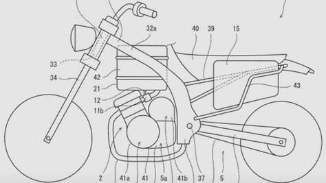 Kawasaki, brevetto con vista sull'elettrico?
