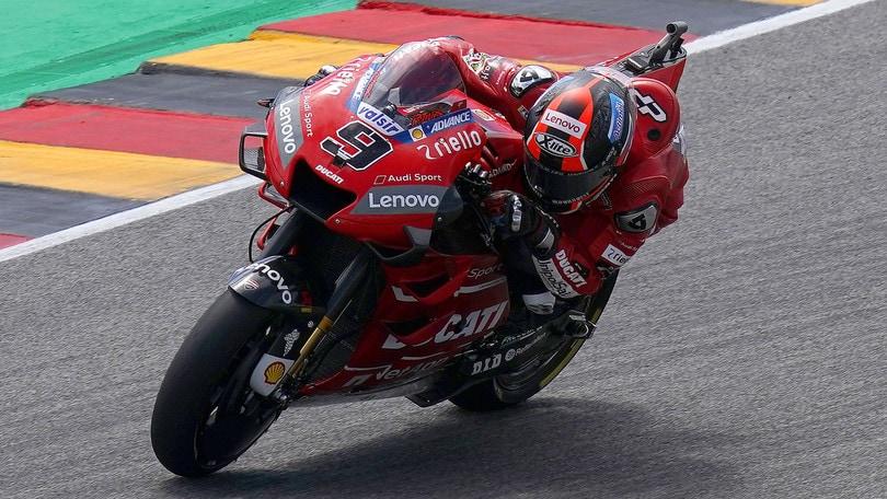 Petrucci passa il test: ora ha la patente per la moto!