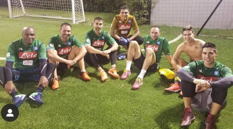 Napoli colombiano, a James Rodriguez manca solo la maglia