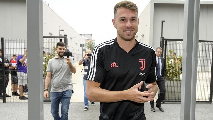 Ramsey, lunedì la presentazione ufficiale alla Juve