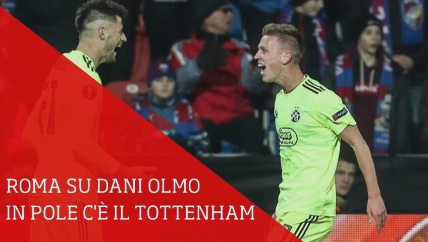 Roma su Dani Olmo, ma in pole c'è il Tottenham