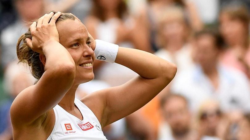 Wimbledon, la Strycova ci prova: l'impresa contro la Williams a 3,70