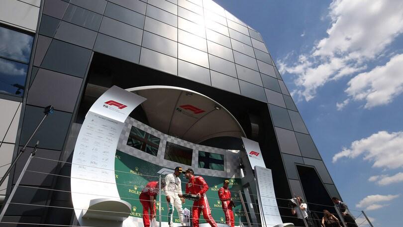 F1: Silverstone, firmato accordo fino al 2024