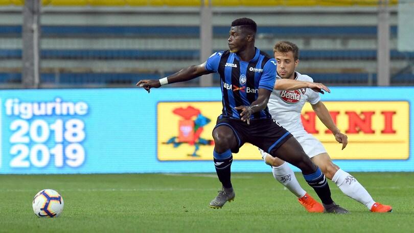 Atalanta, ceduto Ta Bi al Pescara in prestito