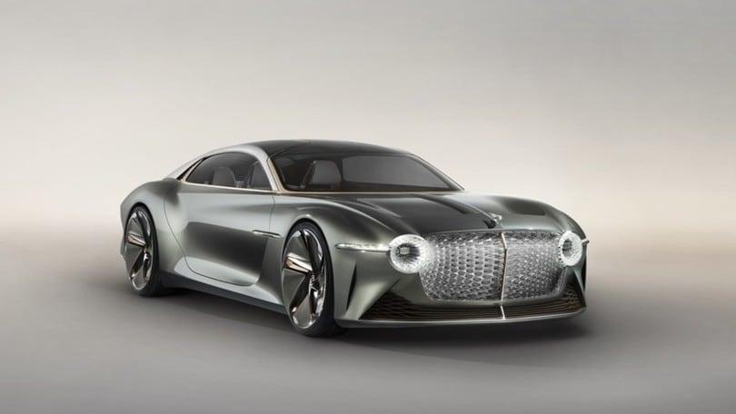 Bentley EXP 100 GT Concept, la supercar elettrica