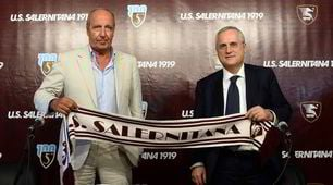 Lotito presenta Ventura alla Salernitana