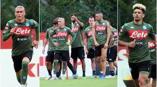 Napoli, Ancelotti lancia la gara: chi è il più veloce?