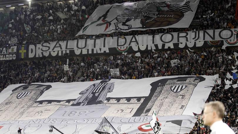 Juve, protesta del tifo organizzato: niente Madrid