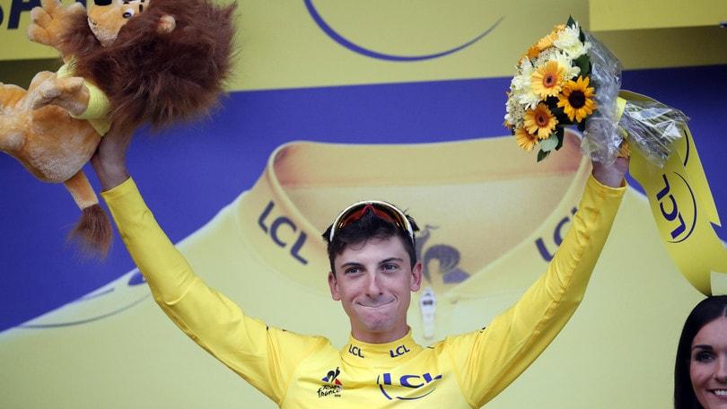 Ciccone maglia gialla del Tour dopo la sesta tappa: