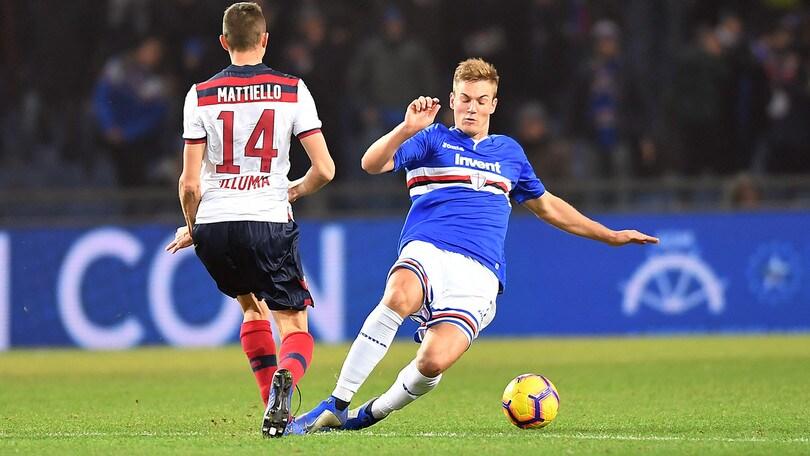 Andersen dalla Sampdoria al Lione: è ufficiale