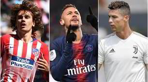 Gli acquisti più costosi: doppio Ronaldo, Griezmann 6°