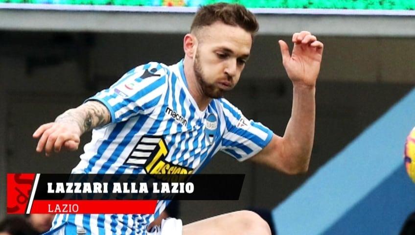 Lazio, Ufficiale Lazzari alla Lazio