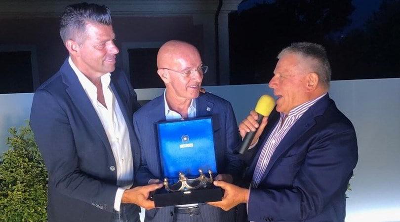 Arrigo Sacchi premiato a Senigallia