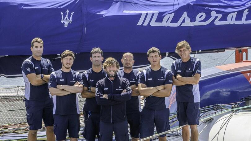 Giovanni Soldini pronto per partire con Maserati per la Transpac
