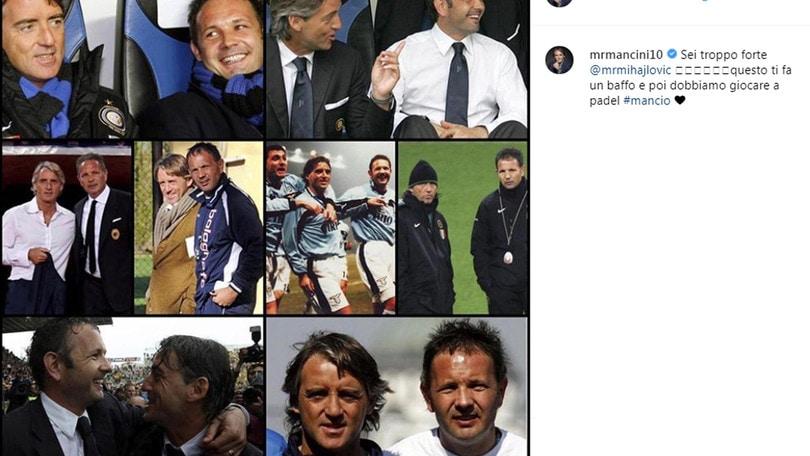 Mancini a Mihajlovic: