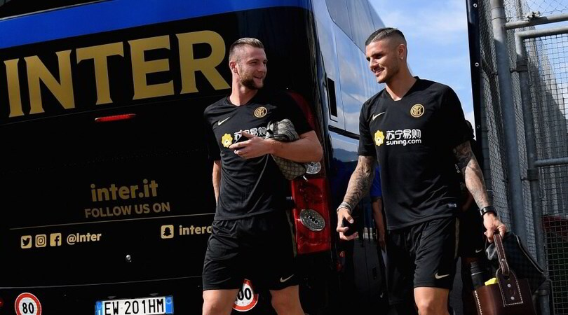 Icardi via dal ritiro: niente tournée con l'Inter