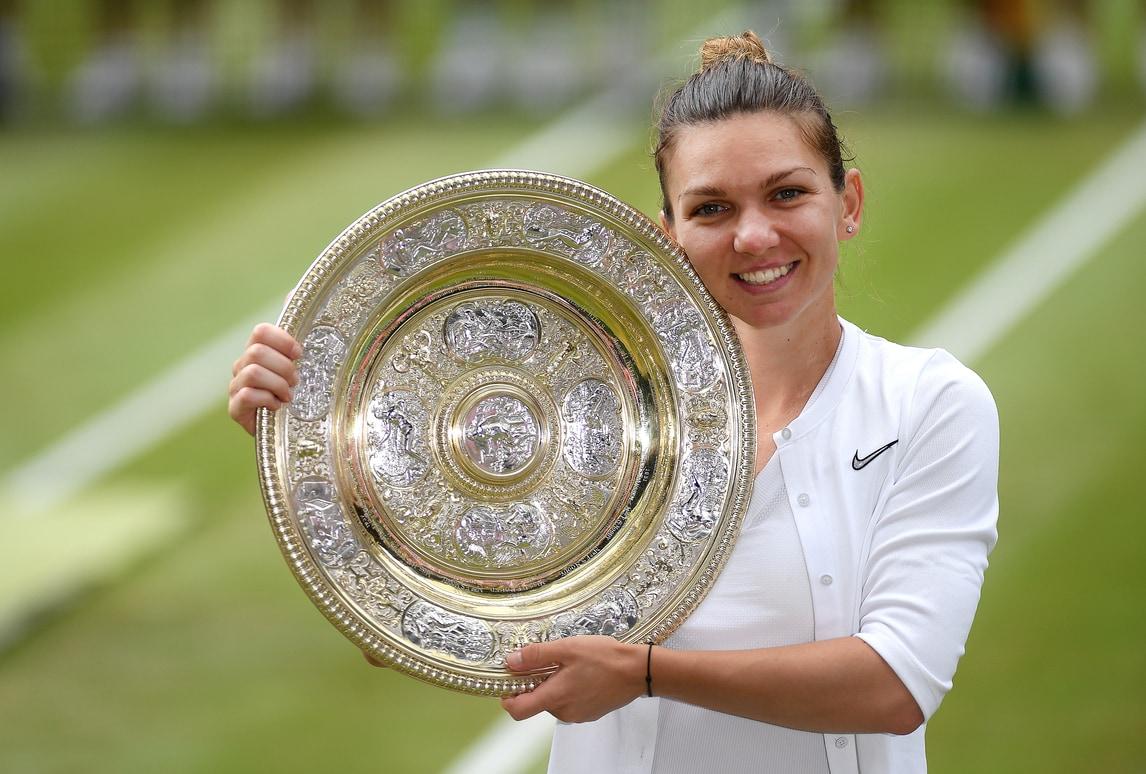 Lacrime e stupore, il trionfo di Simona Halep a Wimbledon