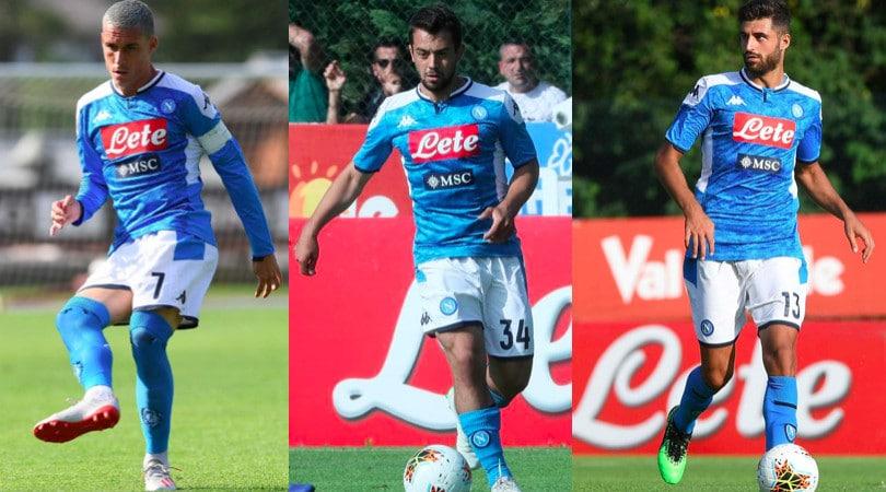 Napoli con la nuova maglia: che ko con il Benevento
