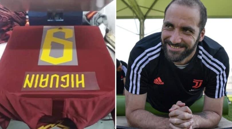 Roma, è già Pipita-mania: i tifosi si fanno stampare la maglia di Higuain