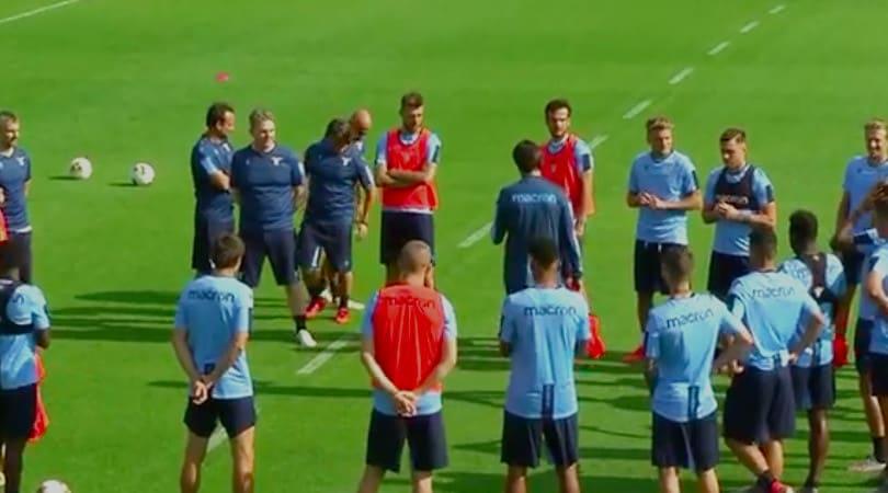Lazio, inizia il ritiro di Auronzo di Cadore