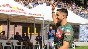 Manolas, boato a Dimaro dei tifosi del Napoli