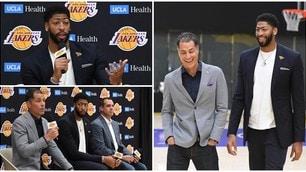 Lakers, la presentazione-evento di Anthony Davis