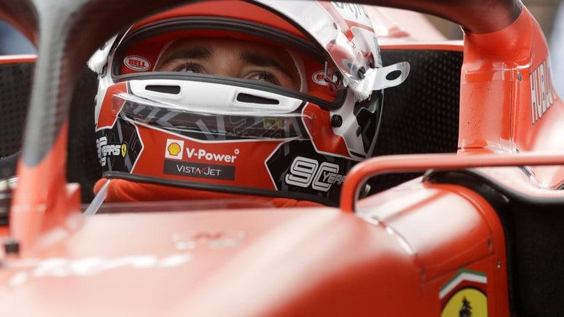 Leclerc terzo a Silverstone: