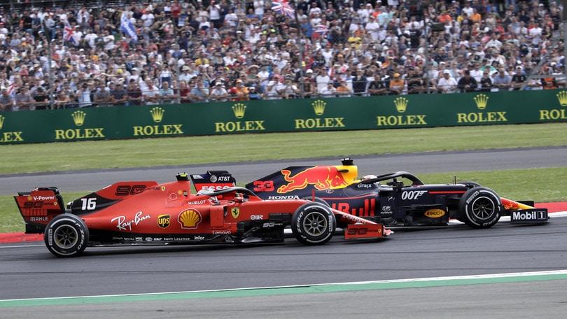"""Leclerc terzo a Silverstone: """"Bello poter lottare liberamente"""""""