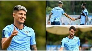 Correa e Luis Alberto show nella prima amichevole della Lazio