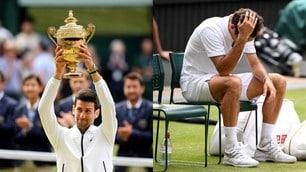 Djokovic è il re di Wimbledon, quanti rimpianti per Federer