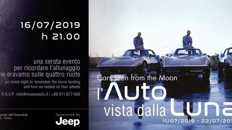 Le auto e l'omaggio alla Luna: doppia mostra al Mauto