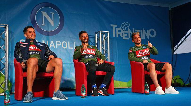 """Il Napoli risponde ai tifosi, Mertens: """"James Rodriguez?È il benvenuto"""""""