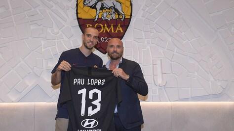 """Pau Lopez: """"Devo crescere, ma voglio ripagare la fiducia della Roma"""""""