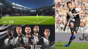 PES 2020 - Juve, ufficiale la partnership con la Konami