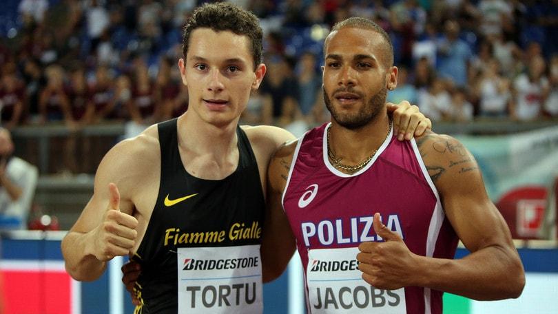 Jacobs vola in 10''03: è il terzo italiano di sempre dopo Tortu e Mennea