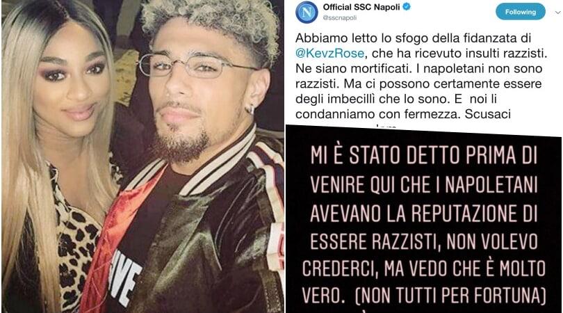 """La fidanzata di Malcuit accusa: """"Napoletani razzisti con me"""""""