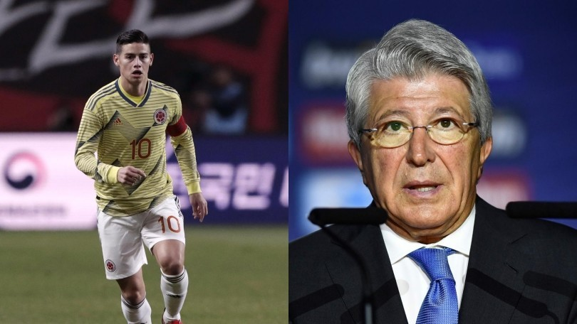 James, parla il presidente dell'Atletico Madrid: