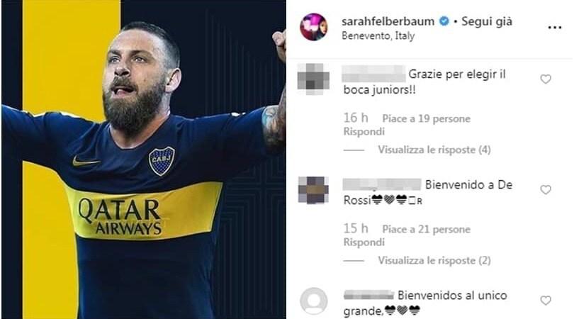 De Rossi al Boca, tifosi argentini impazziti: entusiasmo social