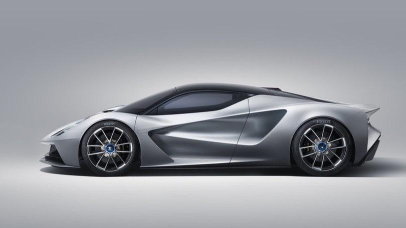 Lotus Evija, l'hypercar elettrica più leggera