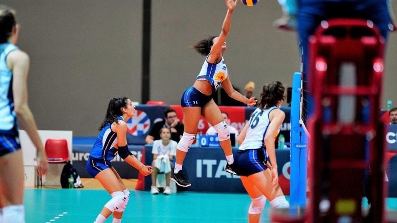 Europei U16: le azzurrine superano la Serbia e volano in semifinale