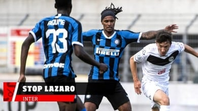 Inter, infortunio muscolare per Lazaro