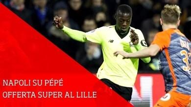 Napoli, super offerta al Lilla per Pépé