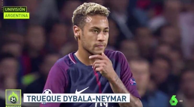 """Neymar alla Juve: scambio con Dybala!"""
