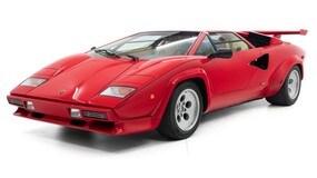 La Lamborghini Countach di Mario Andretti: le immagini