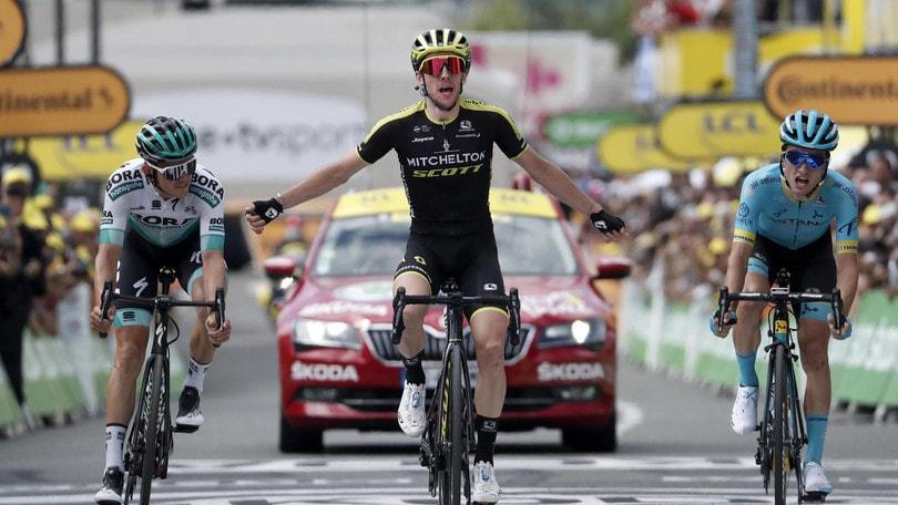Simon Yates vince la 12ª tappa del Tour de France