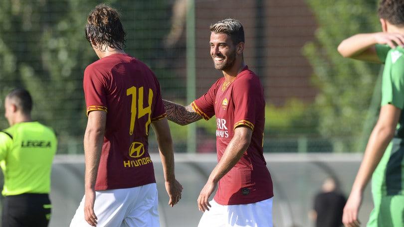 Roma-Tor Sapienza 12-0: tripletta Antonucci, doppiette per Schick e Florenzi