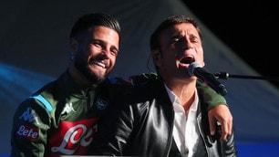 Insigne canta con Sal Da Vinci a Dimaro
