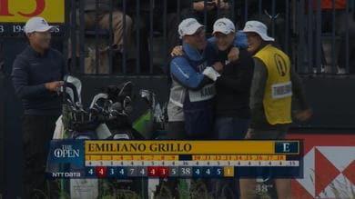 Open Championship, spettacolare hole-in-one di Grillo