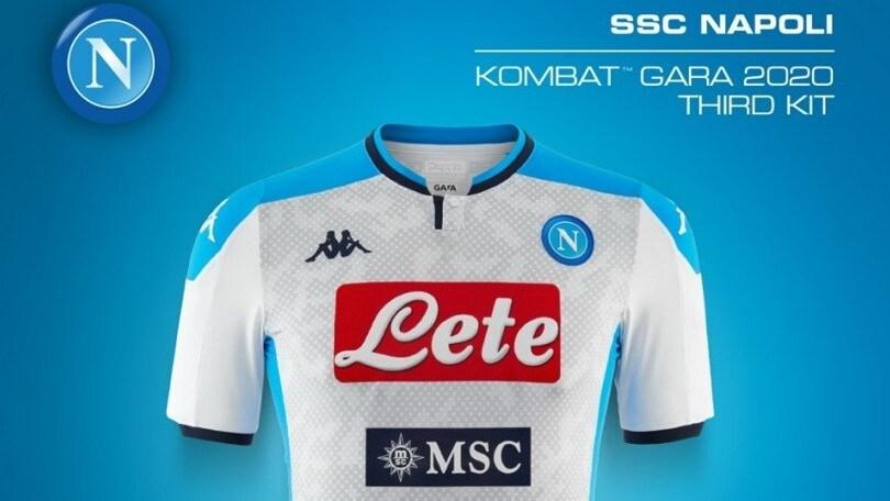 Napoli, presentata la seconda e terza maglia