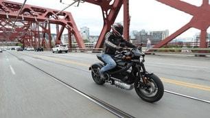 Harley-Davidson LiveWire, le foto della prova